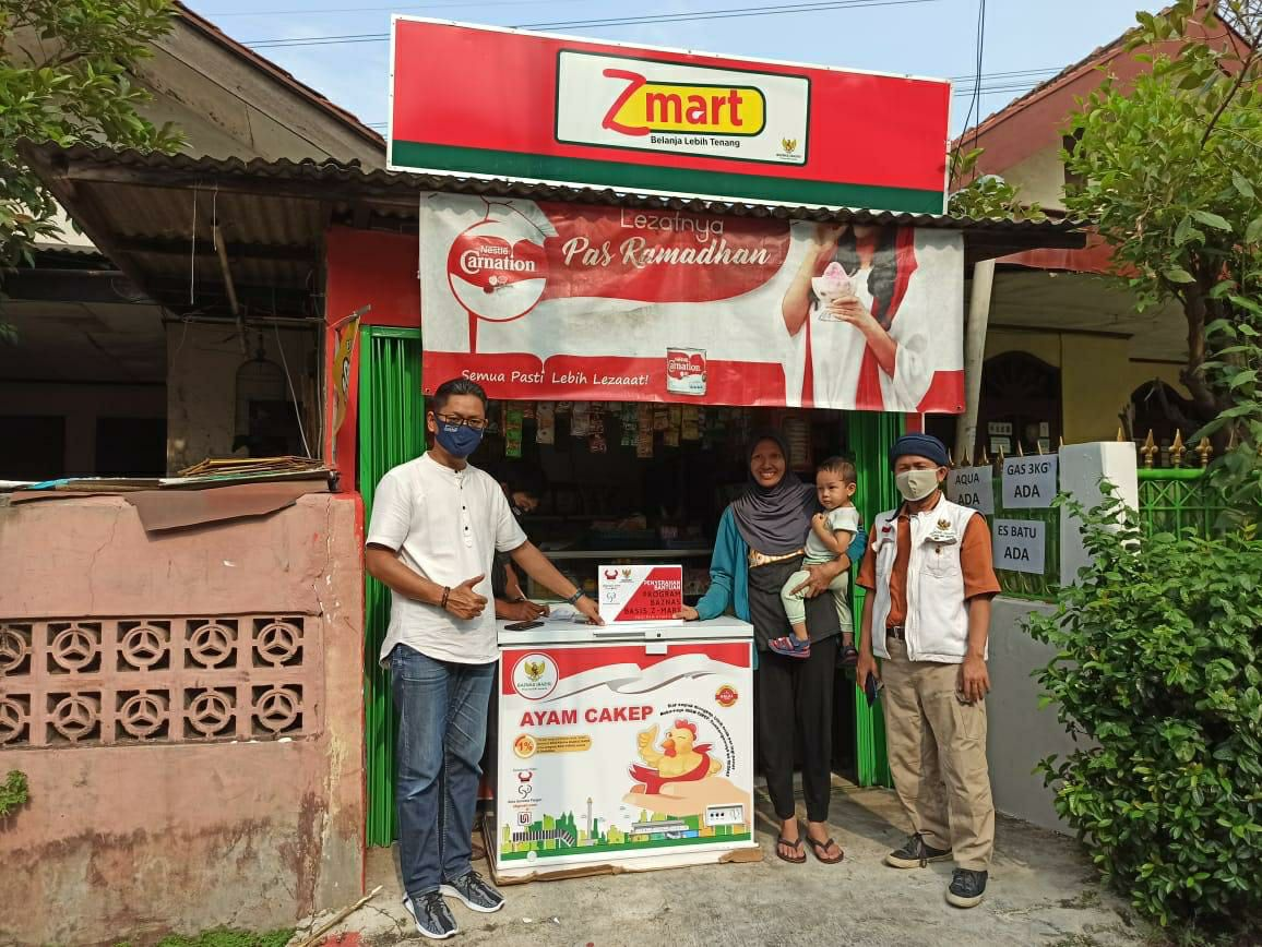 Baznas Bazis SKI Jakarta: Zmart Bukan Sekedar Bantuan untuk Jualan