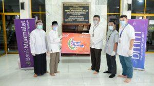 Bank Muamalat & BMM Salurkan Ribuan Paket Bantuan Lewat Program Jumat Berkah