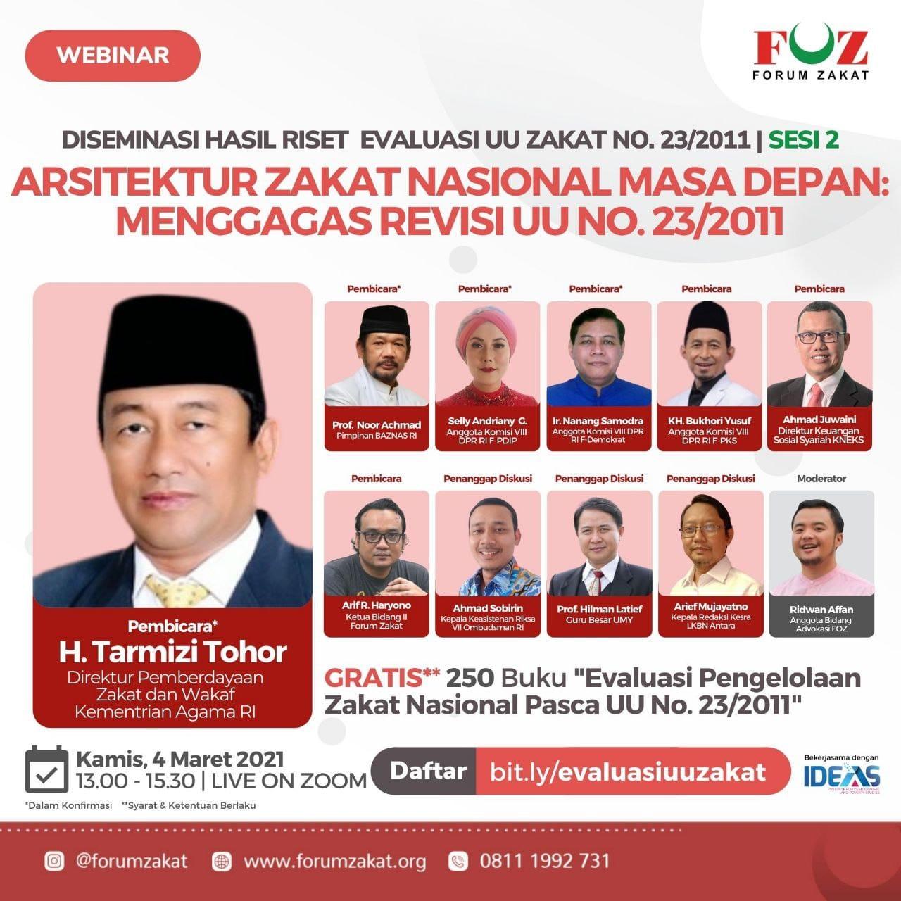 Diseminasi Hasil Riset Evaluasi UU Zakat No. 23/2011 (Sesi 2)