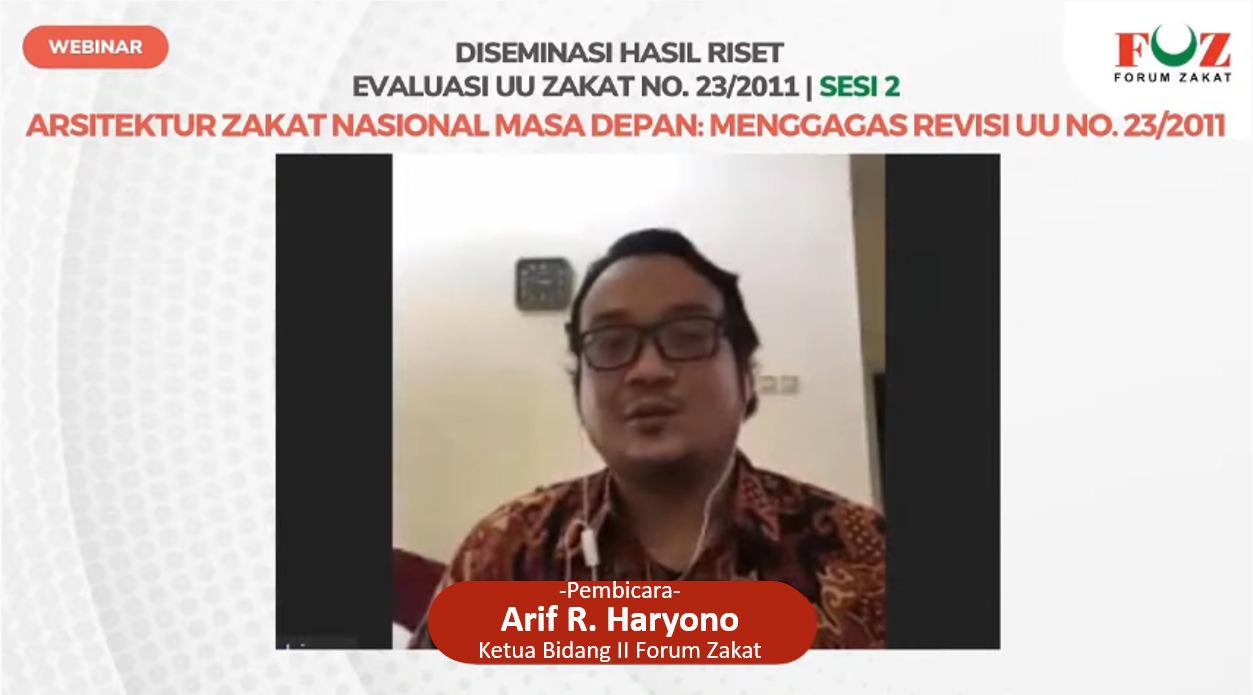 Arsitektur Zakat Nasional Masa Depan: Menggagas Revisi UU No.23/2011